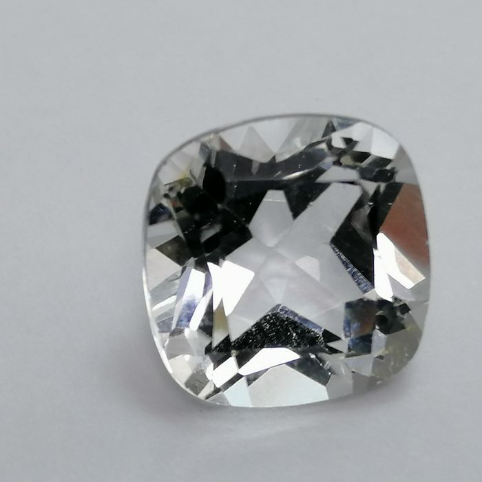 Wit Topaas - 7.26 ct