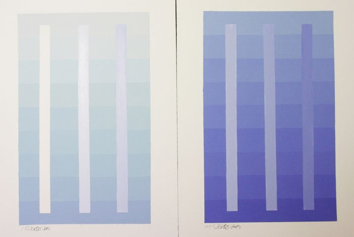 M J Forster - Thinking Blue ( 2 works )