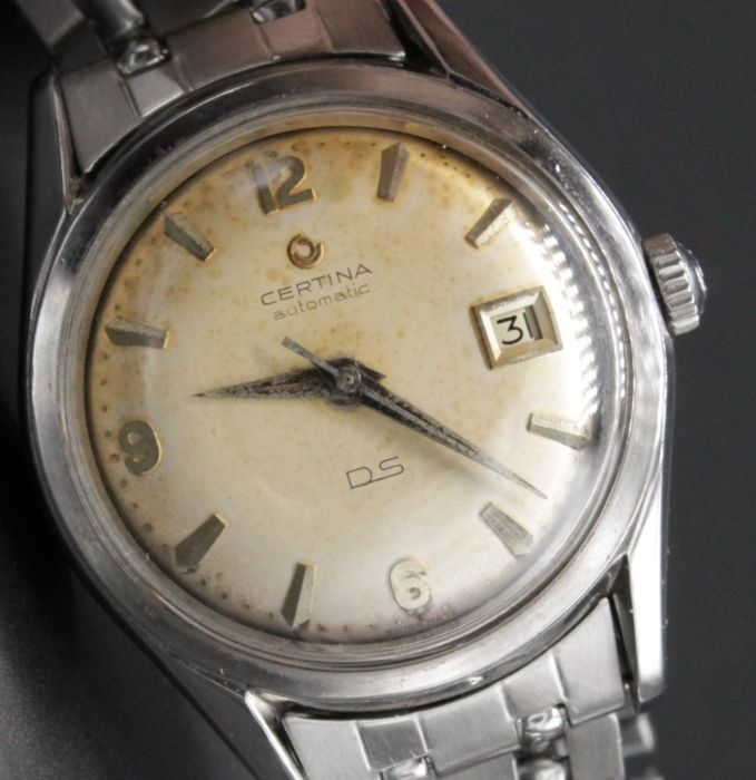 Certina - DS, with matching Gay Frères band - 345-825 - Heren - 1950-1959