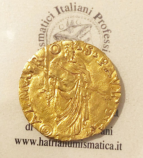 Italy - Papal States - Scudo - Papa Paolo III (1534-1549) - Gold