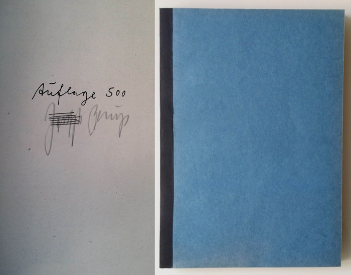Signed; Joseph Beuys - Drawings/Zeichnungen 1946-1971 - 1972