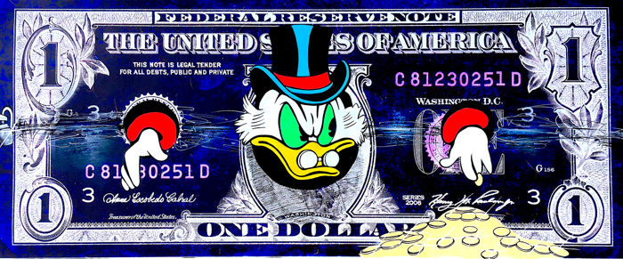 Uncle Scrooge Adventures - Uncle Scrooge - Caught Up in Money (Oversized) - First edition