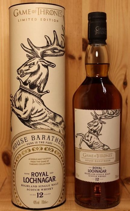 Royal Lochnagar 12 years old House Baratheon, Game of Thrones  - 700ml