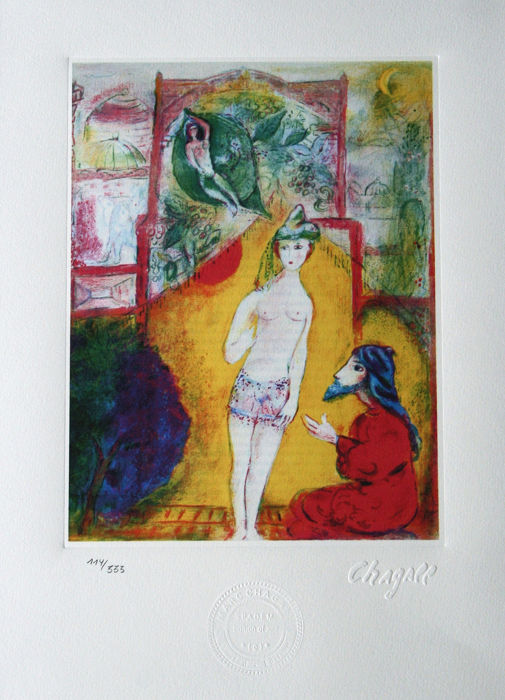 Marc Chagall - Arabian nights