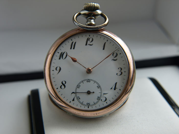 Junghans -  pocket watch NO RESERVE PRICE - 0039832 - Homem - 1901-1949