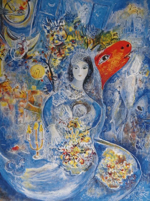 Marc Chagall - Compostion