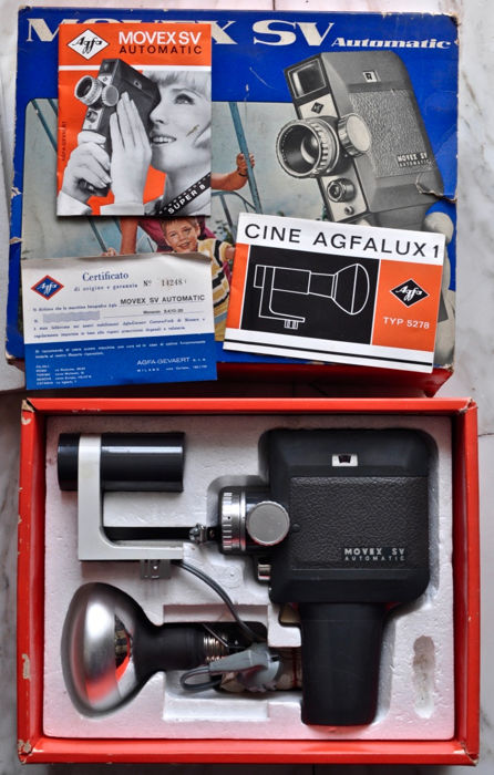 Agfa MOVEX SV Automatic Super 8 (original box)