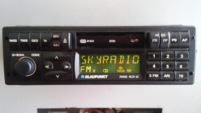 Radio - Blaupunkt - Paris rcr42 - 1990-1993