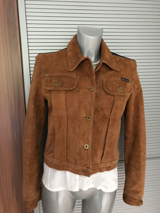 detailing best place good looking D&G - Leather jacket - Size: S - Catawiki