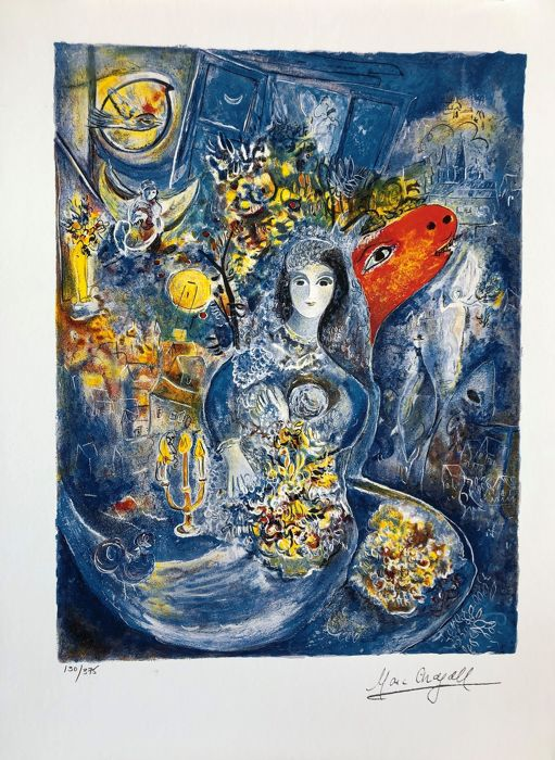 Marc Chagall (after) - Bella