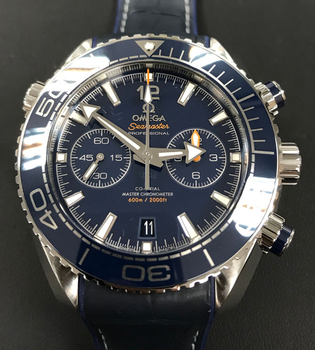 Omega - Seamaster Planet Ocean 600M Co-Axial 45.5 MM - 215.33.46.51.03.001 - Men - 2011-present