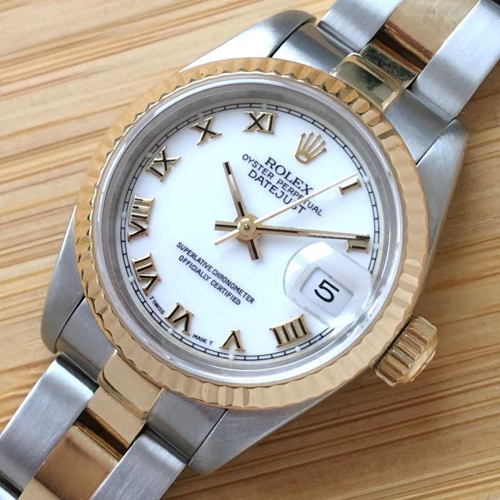 Rolex - Oyster Perpetual Datejust - 69173 - Mujer - 1992