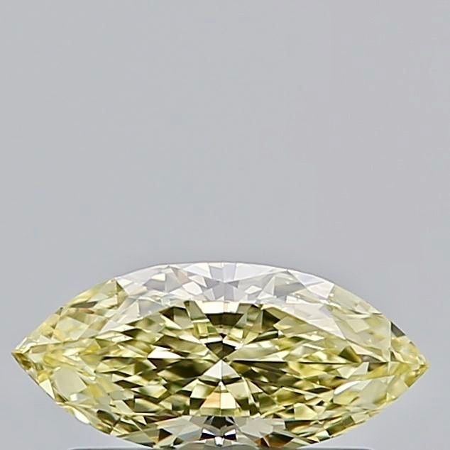1 pcs Diamant - 0.30 ct - Markies - fancy yellow - SI1