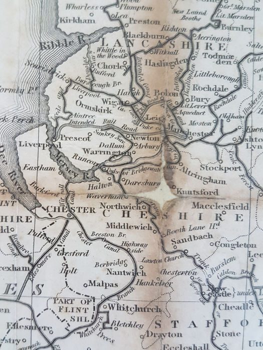 Map Of England Knutsford.U K England Wales And Scotland William Swire J G Bartholomew