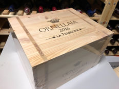 "2016 Ornellaia ""La Tensione"" Limited Edition - 超级托斯卡纳 - 6 Bottles (0.75L)"
