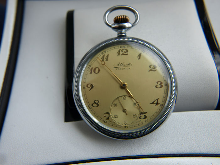 Atlantic - Precision - pocket watch NO RESERVE PRICE - 258066 - Homem - 1901-1949