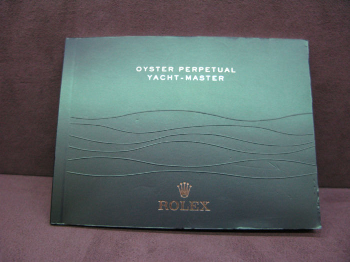 Rolex - YACHT MASTER  Booklet  - Homme - 2000-2010