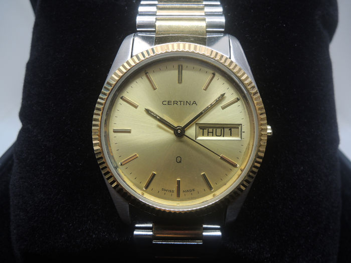 """Certina - Oyster 127 1103 25 Man Day-Date  - """"NO RESERVE PRICE"""" - Heren - 1980-1989"""
