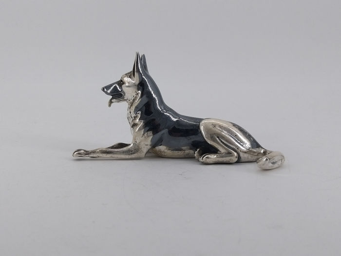 Figurine(s) - .925 silver - Italy - 1950-1999