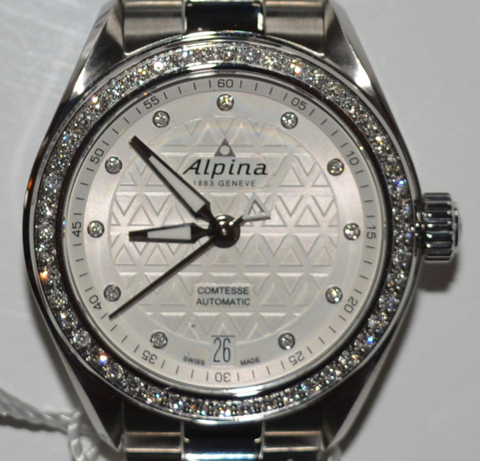 Alpina - Comtesse Sport Automatic Date 34mm Ladies - AL-525STD2CD6B - Femme - 2011-aujourd'hui