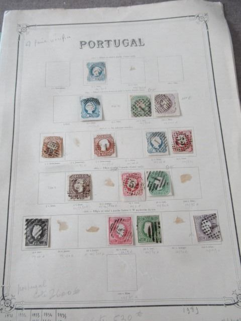 Portugal 1859/1892 - Advanced collection of stamps
