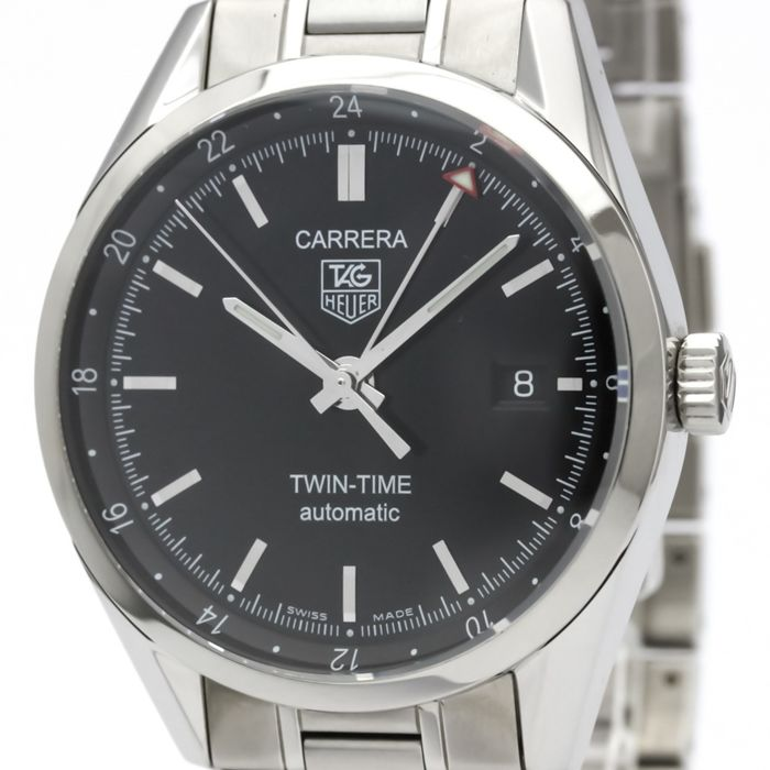 TAG Heuer - Carrera GMT Twin-Time - Ref. WV2115.BA0787 - Heren - 2000-2010