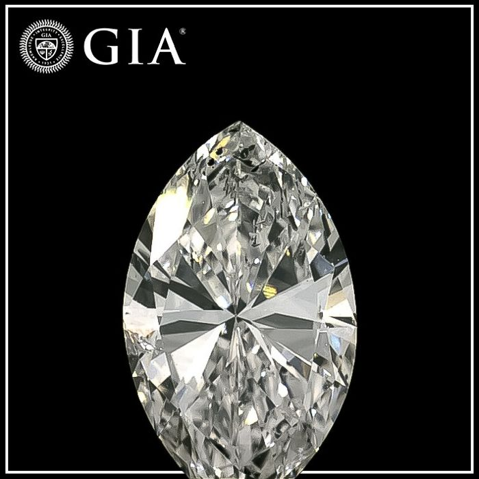Diamant - 0.73 ct - Markies - F - P1