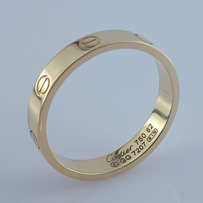 Cartier - 18 kt. Yellow gold - Love Ring