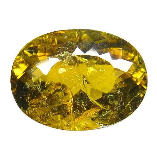 1 pcs Brown, Green, Yellow Dravite, Tourmaline - 12.44 ct