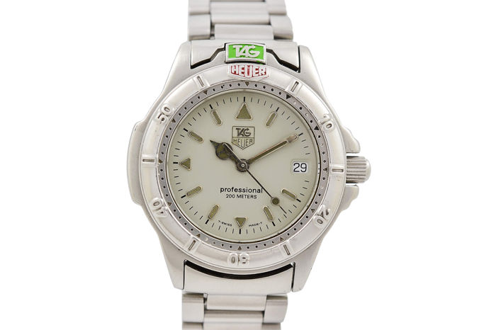 TAG Heuer - 4000 Series - 999.713K - Heren - 1990-1999