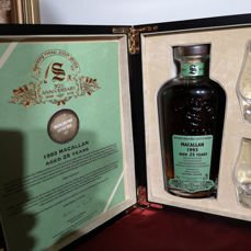 Macallan 1993 25 years old 30th Anniversary - Signatory Vintage - 70cl