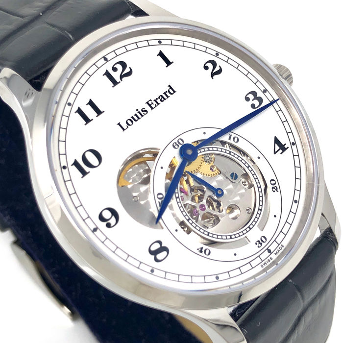 "Louis Erard - 1931 Slim Mechanical Small second - Open balance ""NO RESERVE PRICE"" - 32217AA31.BEP04 - Hombre - BRAND NEW"