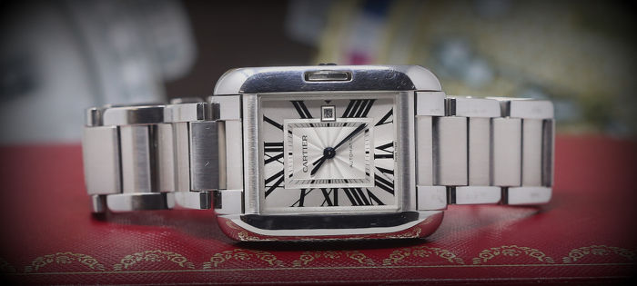 Cartier - Tank Anglaise XL  - Ref. W5310009 - Unisex - 2011 - actualidad