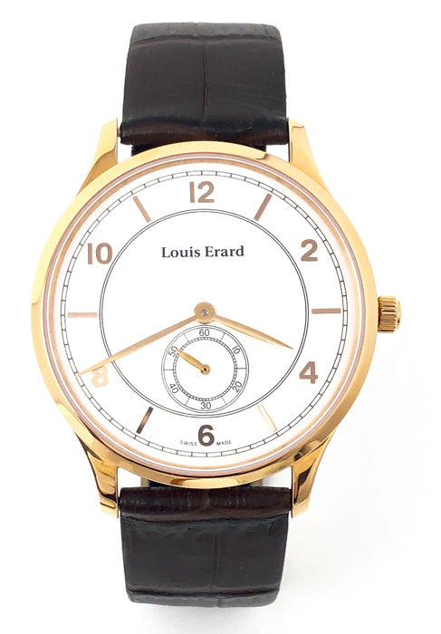 Louis Erard - 1931 Mechanical Rose Gold - 47217PR51.BRP01 - Heren - Brand New