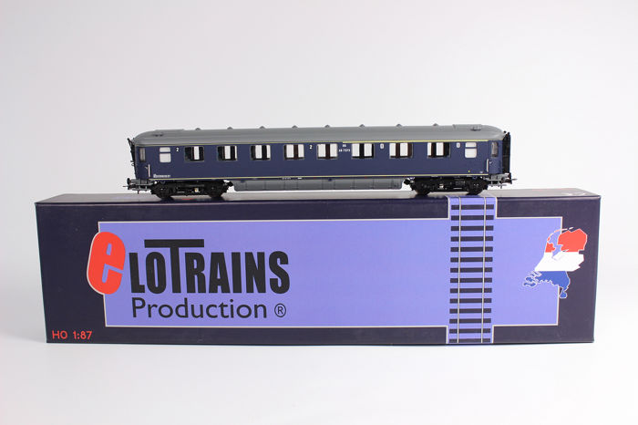 Elotrains H0 - 100.49-A - Wagon - Plan K periode III (1958-1966)