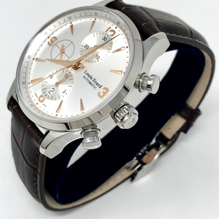 """Louis Erard - Automatic Chronograph Watch 1931 """"NO RESERVE PRICE"""" - 78225AA11.BDC02 - Heren - BRAND NEW"""