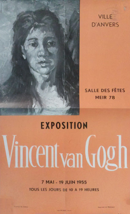 Anonymous - Exposition Vincent van Gogh, Antwerp - 1955