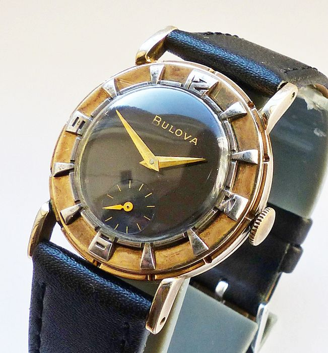 Bulova - 5TH Avenue 17Jewels sehr seltene Herren Armbanduhr - 3811851 - Heren - 1952