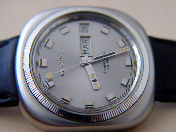 "Movado - Kingmatic - HS360 - N.O.S. - ""NO RESERVE PRICE""  - Hombre - 1970-1979"