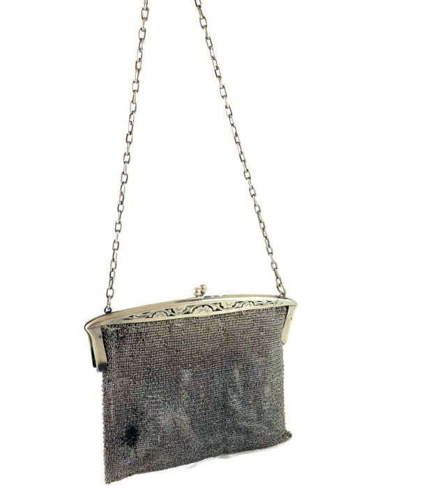 Women's Clutch evening bag - .875 (84 Zolotniki) silver - Russia
