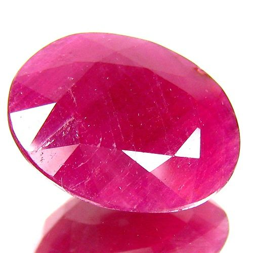 1 pcs Purple, Red Ruby - 7.97 ct