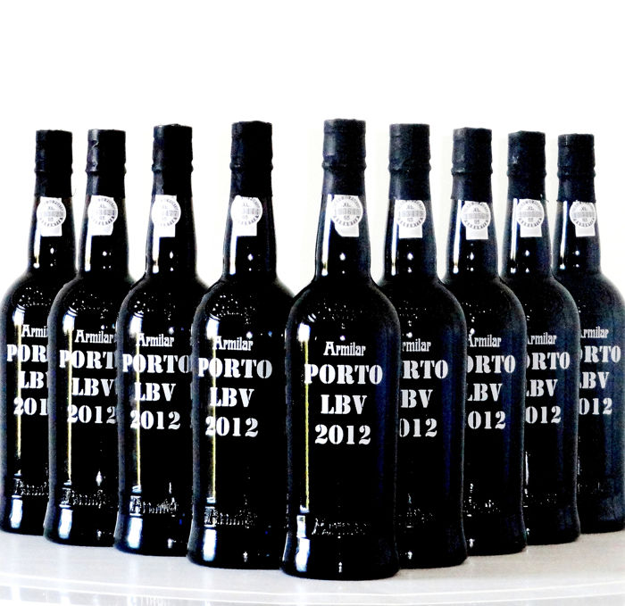 "2012 C. da Silva ""Armilar"" Late Bottled Vintage Port - 16 Bottles (0.75L)"