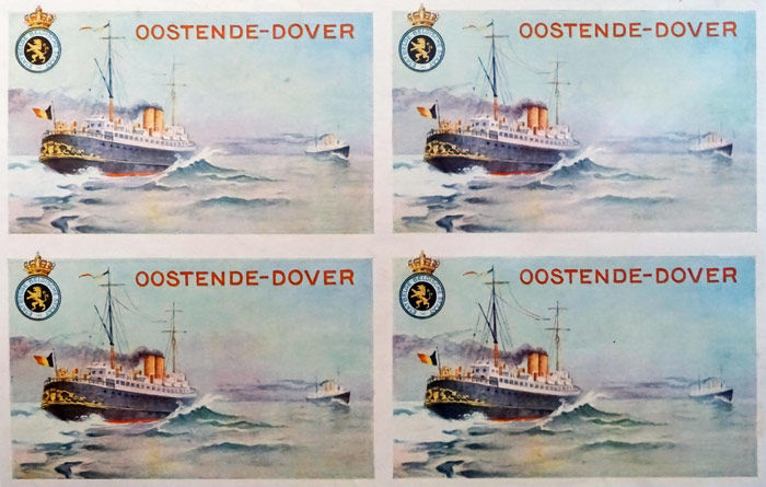 Anonymous - Oostende-Dover - 1925