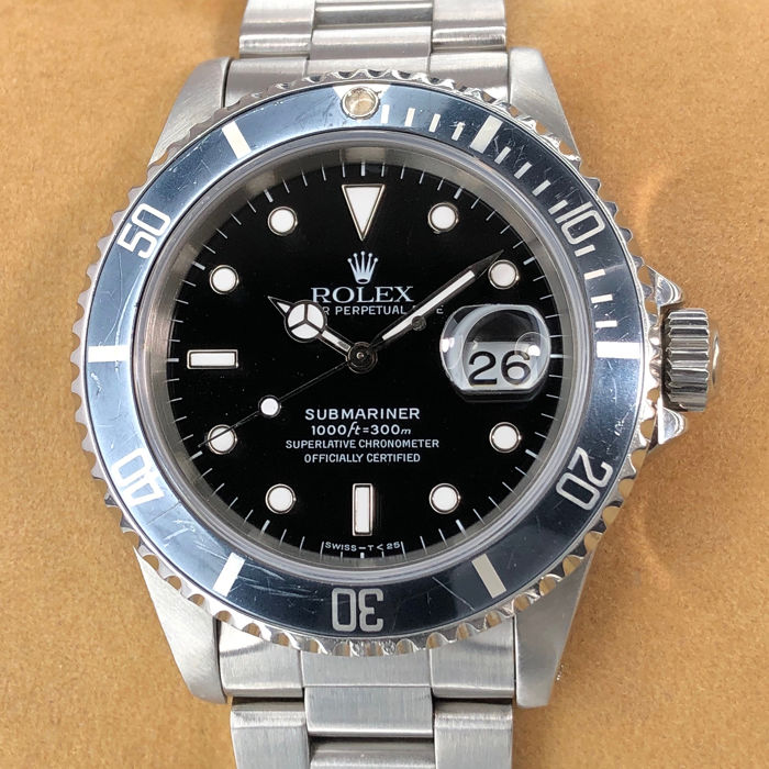 Rolex - Submariner Date - 16610 - Heren - 1990-1999