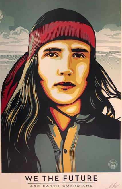 Shepard Fairey (OBEY) - We The Future - Earth Guardians