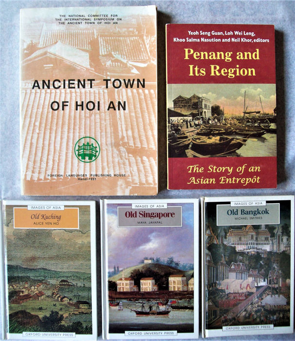 Book (5) - Hardcover / Softcover - Art and History of Colonial  Settlements in SE Asia - Southeast Asia - 18th century