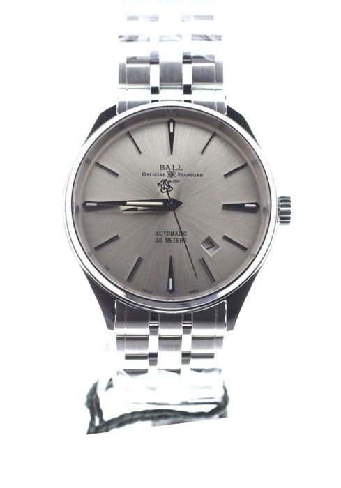 BALL - Trainmaster Legend Automatic Silver Dial Full Steel - NM3080D-SJ-SL - Unisex - 2019