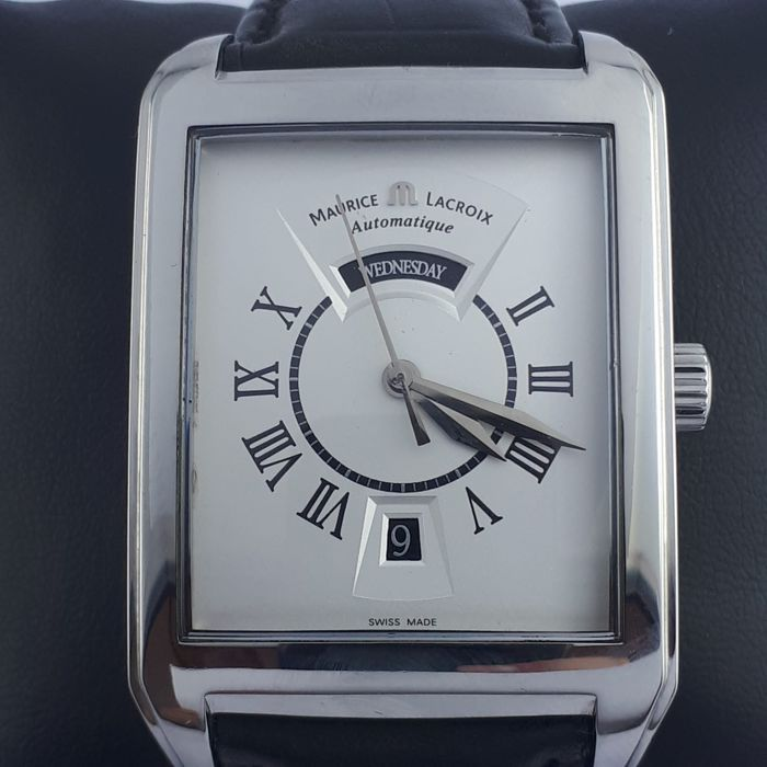 Maurice Lacroix - Pontos Automatic Day Date  - Ref: 6147 - Heren - 2011-heden