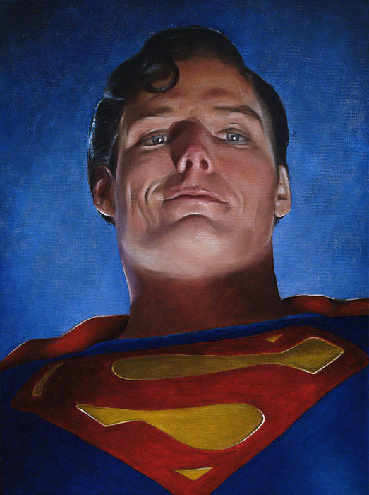 Agustin Iglesias - Superman - Christopher Reeve