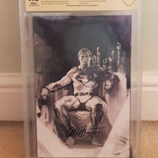 Action Comics #1000 - CGC 9.8 - Bulletproof Dell'Otto Rare Sketch Variant - Signed - First edition - (2018)